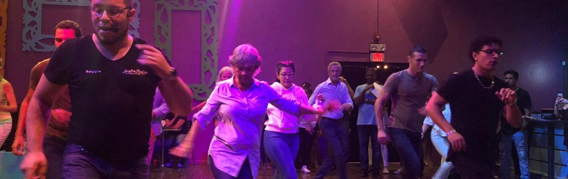 Salsa Leren Dansen op Aruba is Fun!