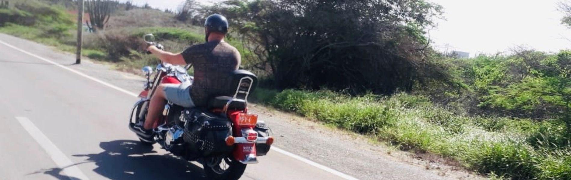 Harley Davidson rijden, kan ook op Aruba!