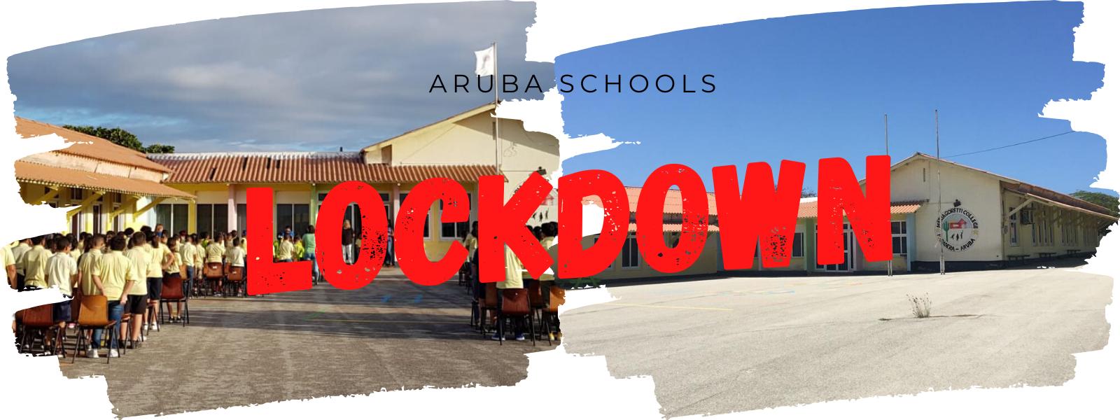 'Online Juffen' op een Basisschool in Aruba in Coronatijd