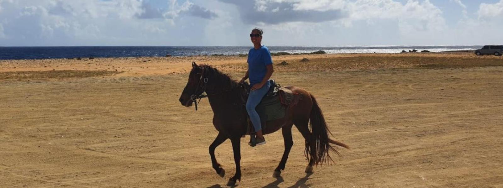 Paardrijden op Aruba: Eigenlijk eentje die je op je 'to-do list' moet zetten…